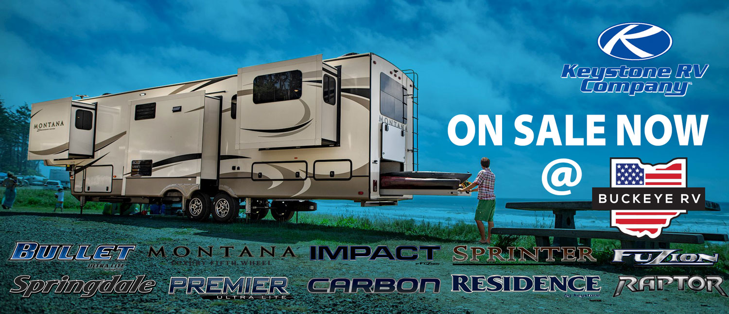 Save Thousands Now on Keystone RVs at Buckeye RV
